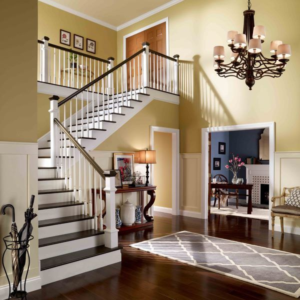 Painted Wainscoting, Behr Paint Colors, Room Colors, Wall Colors, Color  Walls, Hallway Ideas, Dear Future, Interior Paint, House Projects