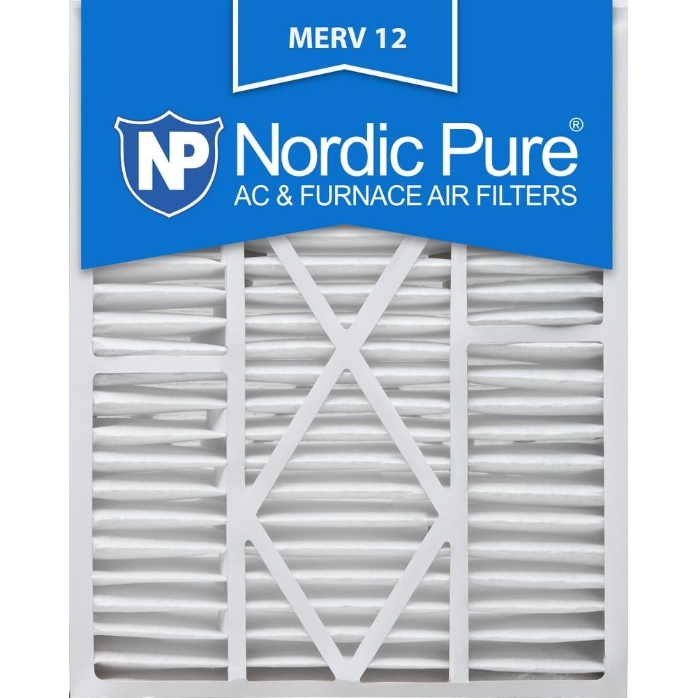 Nordic Pure 20x25x5 1 4 20x25x5 25 Goodman Carrier Amana Replacement Merv 12 Qty 2 In 2020 Air Filter Filters Pure Products