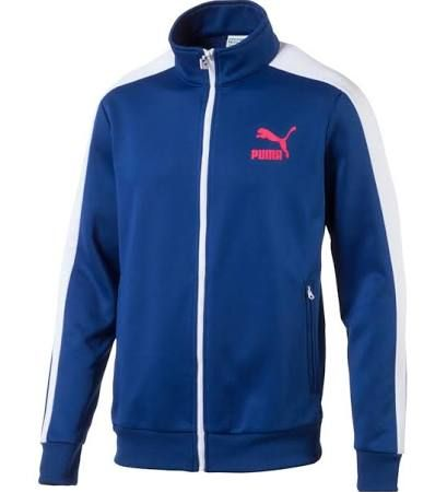 076d6a4a3cee Puma Archive T7 Track Jacket - 10 - US S Blue Male