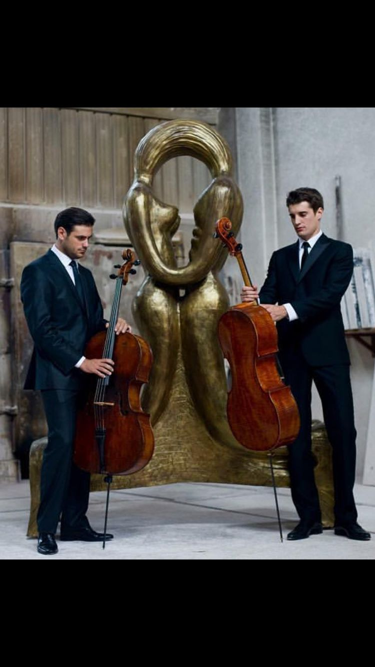 Hottest cello players ever  More than talented!! | 2cellos