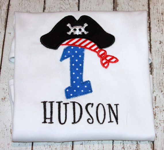 Hey, I found this really awesome Etsy listing at http://www.etsy.com/listing/105810567/boys-pirate-birthday-shirt-sale