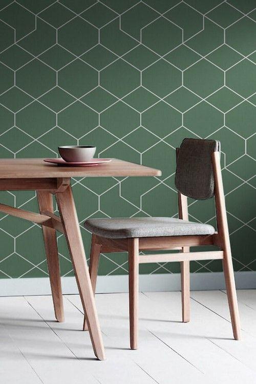 zoom sur les 5 papiers peints tendances de 2016 more inspirations. Black Bedroom Furniture Sets. Home Design Ideas