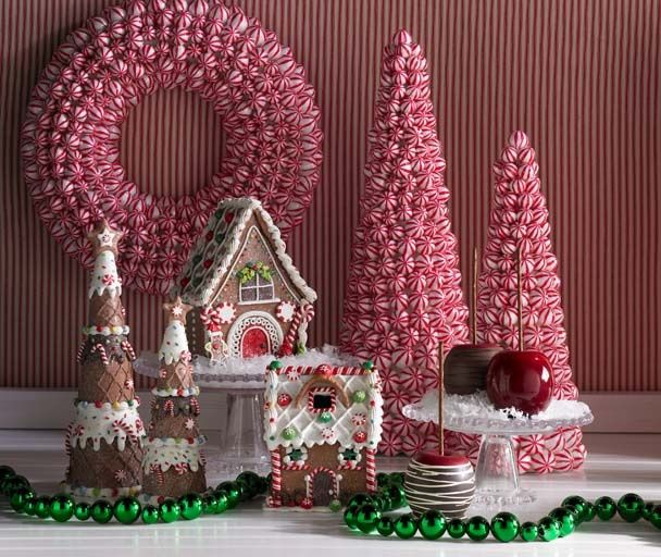 Christmas Decorations Gingerbread Theme Gingerbread And
