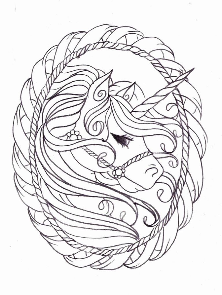 27 Hard Unicorn Coloring Pages Rotarybalilovina Org Unicorn Coloring Pages Unicorn Sketch Pattern Coloring Pages