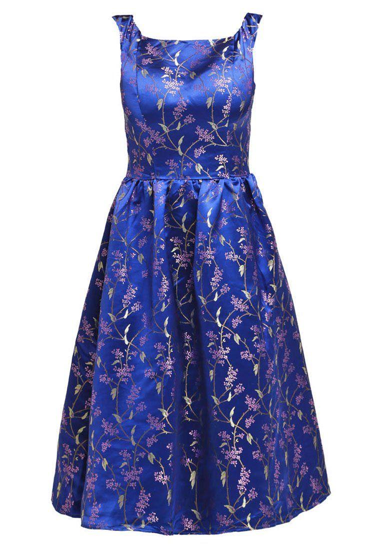 Chi Chi London FLO Sukienka koktajlowa blue   Sukienki   Pinterest ...