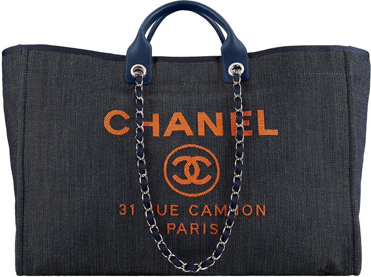 0edecf41f9ef Chanel Large Deauville Shopping Bag