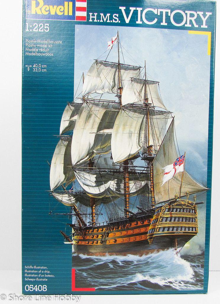 HMS Victory Model Ship Kit Revell 05408 1/225 - Shore Line Hobby