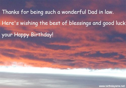 Happy Birthday Wishes For Father In Law And Amazing Wishes Quotes