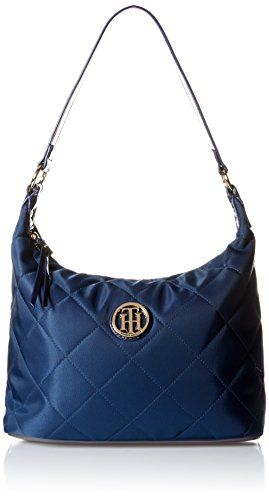 bc95d6036b5 Tommy Hilfiger Quilted Hobo Bag Navy One Size ** See this great product.