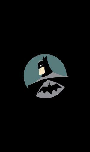 ミニマルなバットマン Batmanのiphone壁紙 壁紙キングダム