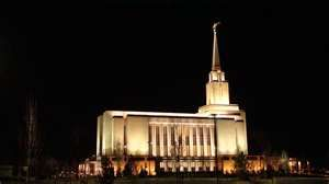 Oquirrh Mountain Temple, Utah (I went there after the dedication and accidently saw President Monson come out and got to take pictures of him and sing with the crowd it was a memory I will never forget.