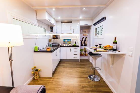 24 Küchenideen für kleine Räume | Wundervoll, Stehen und Gelassenheit
