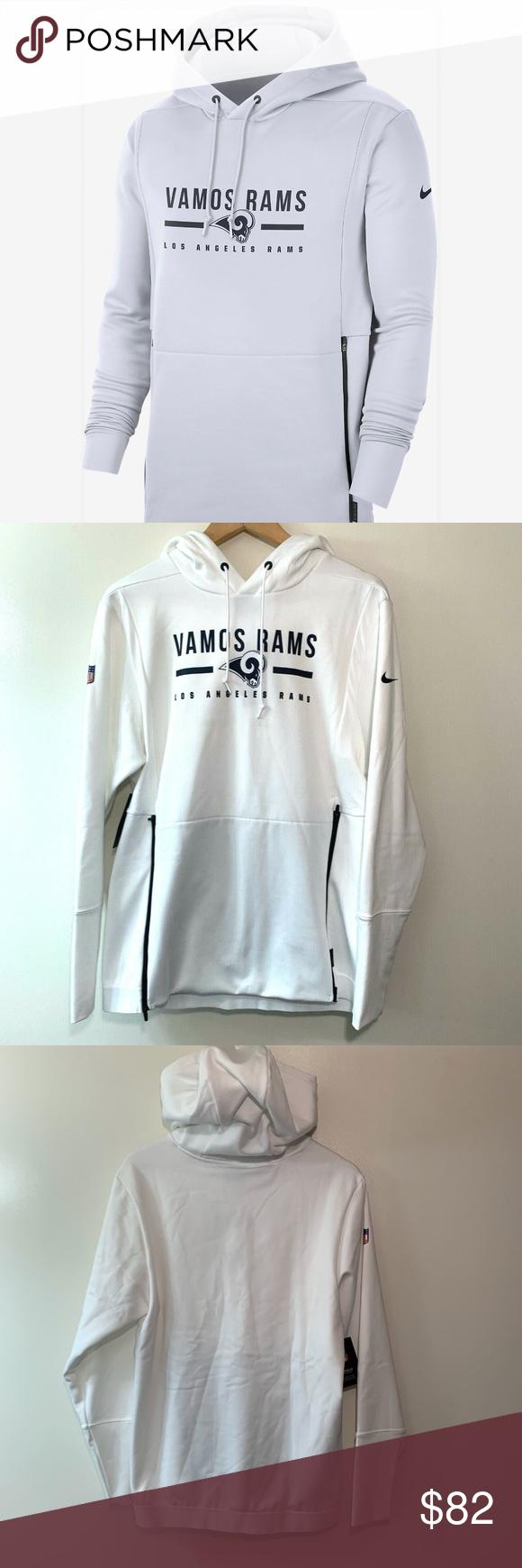 Nike Los Angeles Rams Vamos Rams Hoodie Sweatshirt In 2021 Sweatshirts Hoodie Sweatshirts Grey Nike Hoodie [ 1740 x 580 Pixel ]