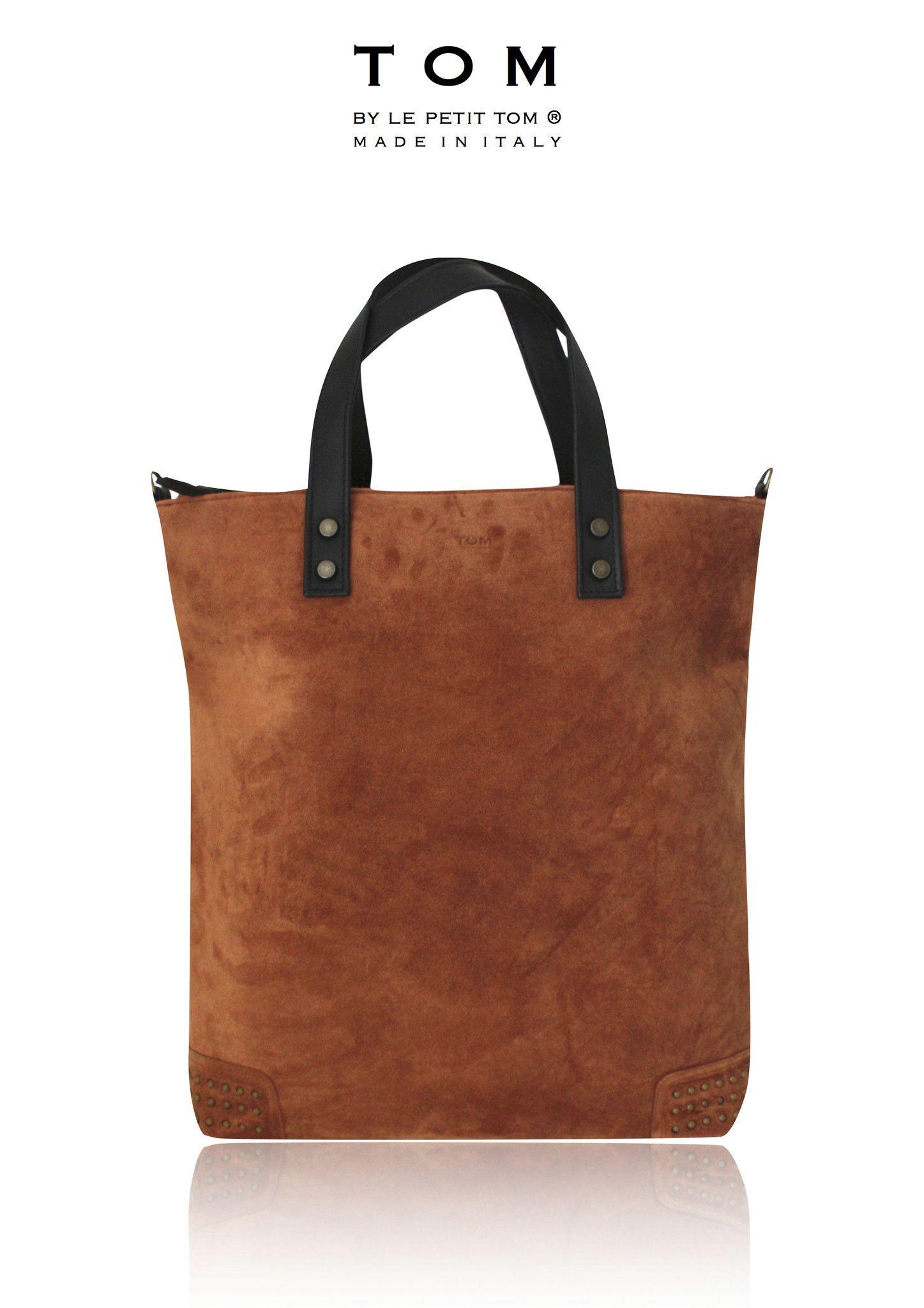 Tom Men Diaper Bag Moccasin Tumbag1 Brown Suede
