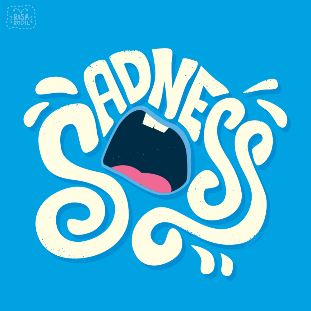 Inside Out Typographic Emotions On Behance Word Drawings Typography Inspiration Emotions
