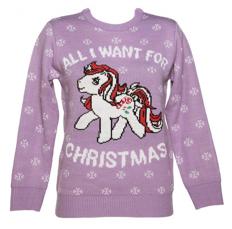 Little Pony De Punto Puente Navidad Truffleshuffle