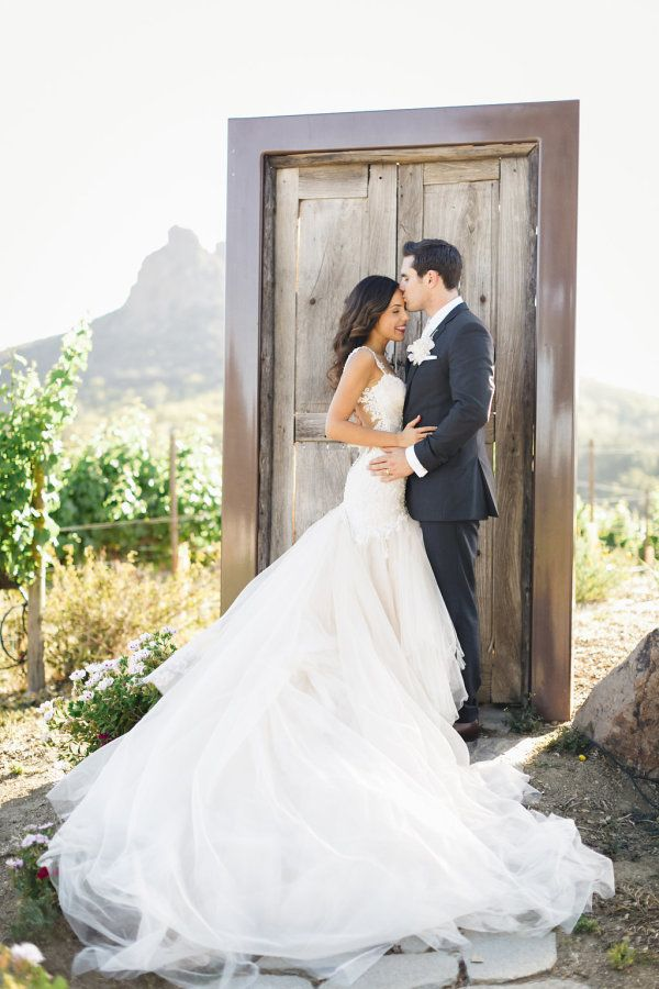 Complete With A Show Stopping Custom Galia Lahav Wedding Dress This Day Is Rustic Romance Peonies And Roses Galore Designed By Gather Events