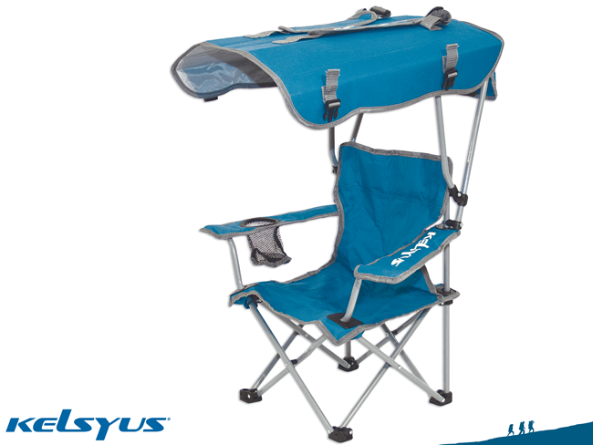 Kelsyus Canopy Chair. Oversized seat with wide arm rests
