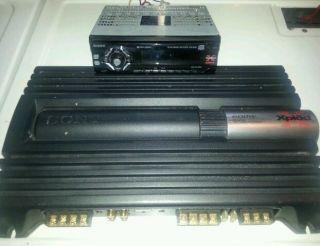 Sony Xplod XM ZR604 Amp 4 3 Channel 600 Watt Car Stereo System w
