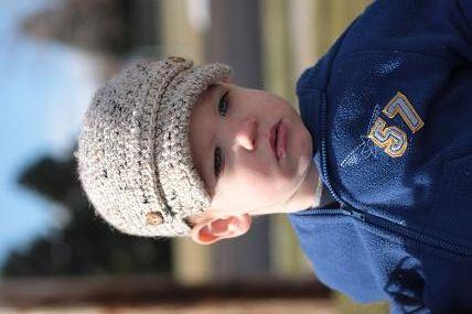 Crochet Newsboy Hat Pattern Free  90f60bbb492