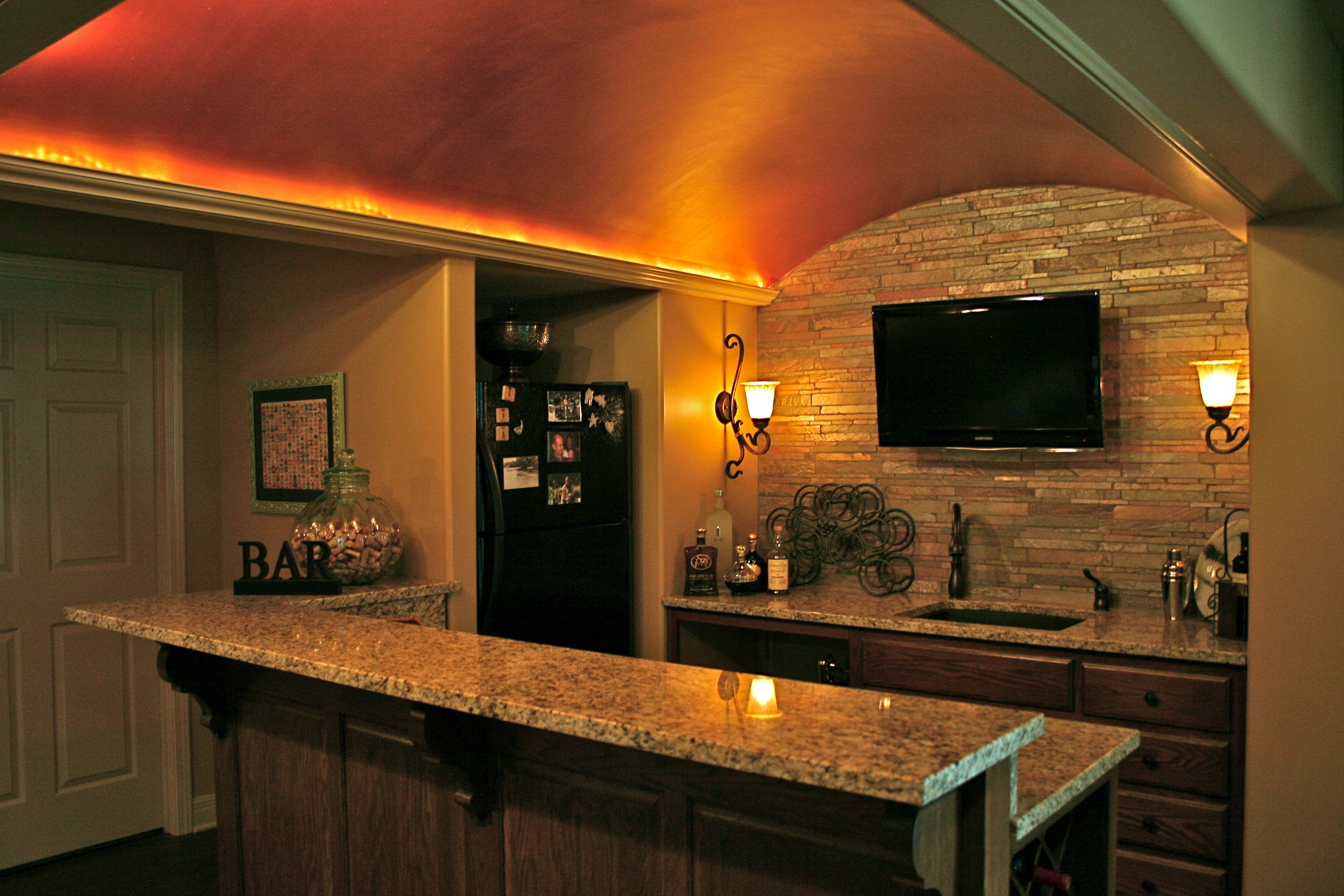 Pin By Suhr Interior Design On My Folio Living Dining More Rustic Basement Bar Basement Bar Basement Bar Plans