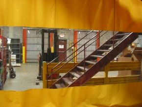 Industrial Heavy Duty Outdoor Curtains Exterior Curtain Walls