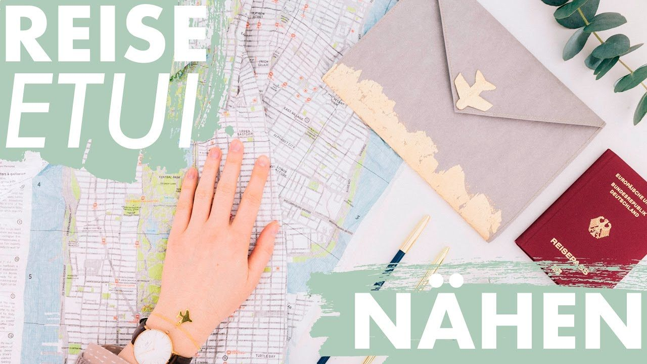 Reise Organizer nähen | + kostenloses Schnittmuster | DIY | Travel ...