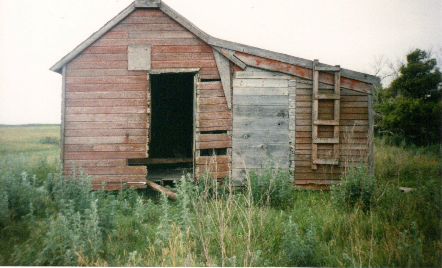 This Is The Shack My Grandfather Was Raised In In Minnewakin North Dakota Near Devils Lake House Styles Devils Lake Outdoor Structures
