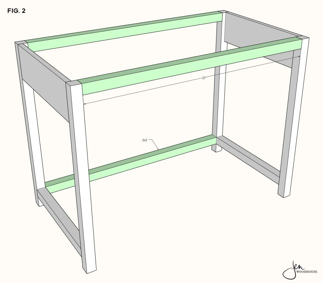 DIY Makeup Vanity Plans by Jen Woodhouse Learn How To Build