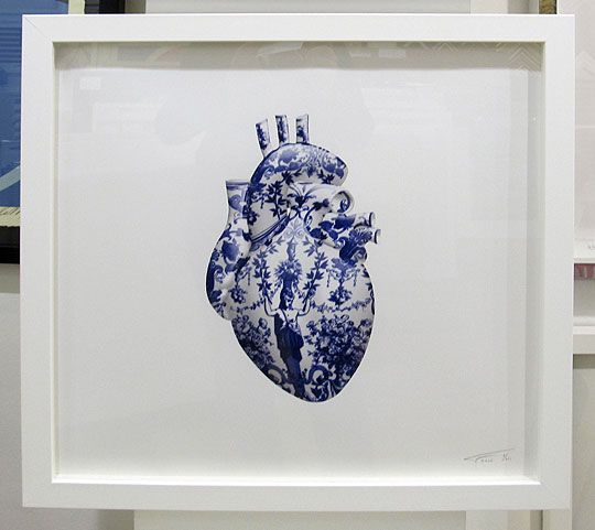 Framed My Heart is Yours Forever (Giclee Signed Limited Edition of 60) by Magnus Gjoen