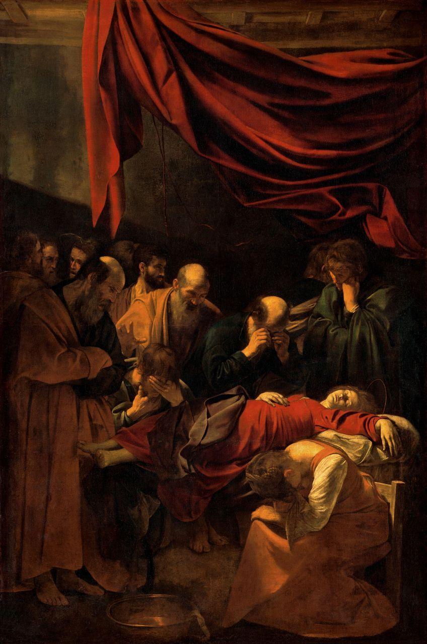 Bildergebnis für La muerte de la Vergine caravaggio