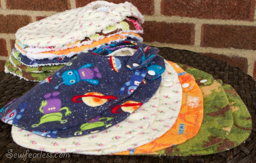 Bundles for Babies: Chenille Bibs #bibsforbaby