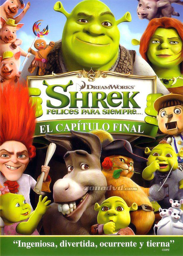Shrek 4 Felices Para Siempre 20109 Director Mike Mitchell Premios 2010 Premios Annie Personajes De Shrek Shrek Peliculas Infantiles De Disney