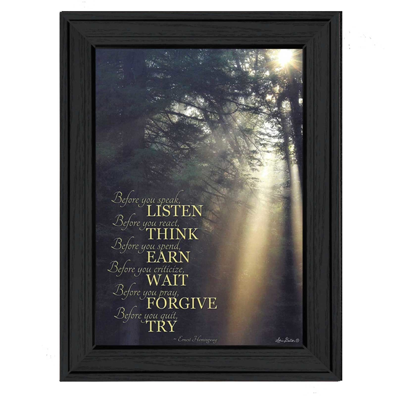 Before You by Lori Deiter Framed Photographic Print