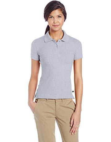 women khaki pants and polo - Google Search   Navy blue polo shirts ...