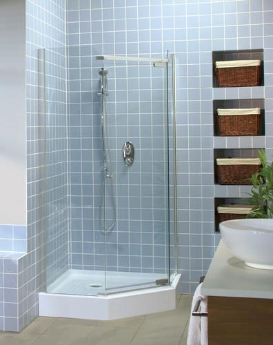 38 Tigris Neo Angle Shower Base And Door Kit At Menards Neo