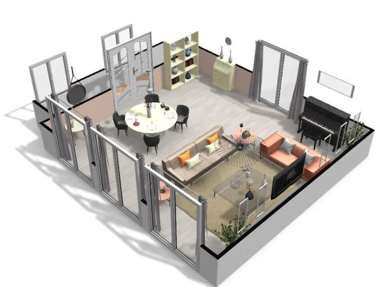 Free And Online 3d Home Design Planner Homebyme In 2020 House Design Home Design Software 3d Home Design