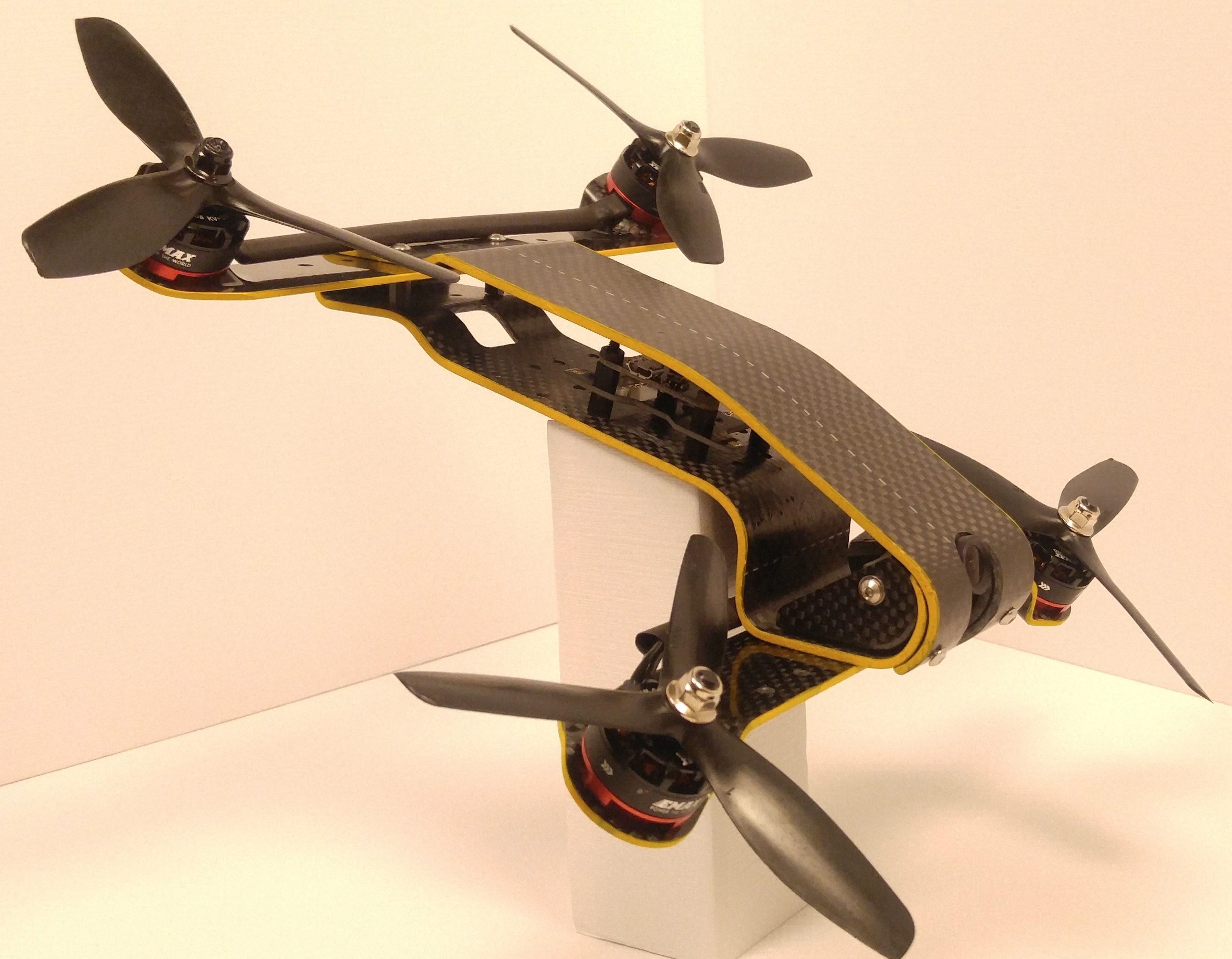 Performance Technology: Carbon Hornet 250 High Performance Racing Drone Revolution