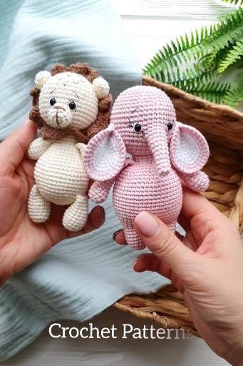 PDF Patterns Crochet toys Stroller/pram by FairyTo