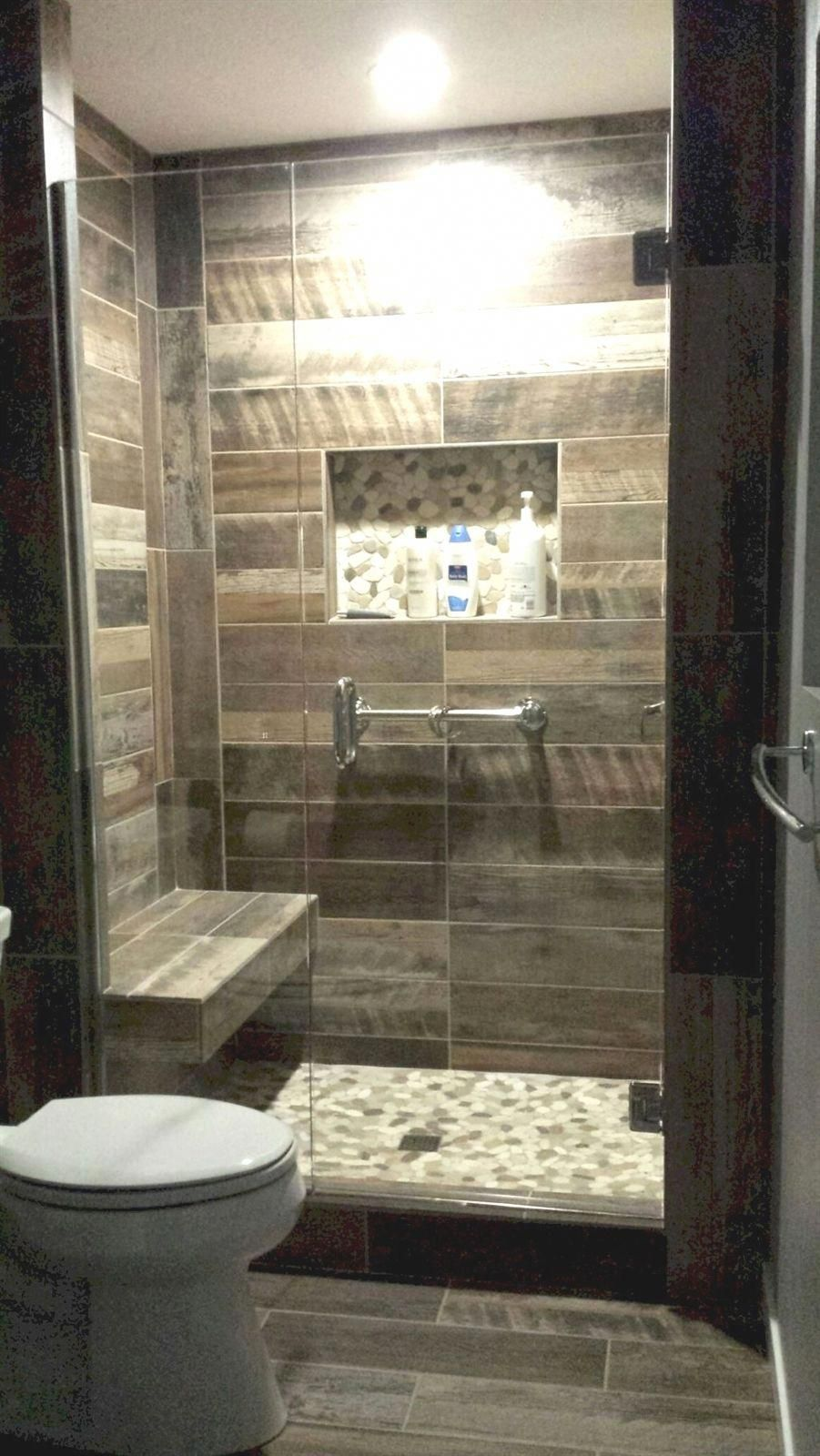Painting Your Entire Bathroom One Light And Strong Color Yes Ceiling And Floors Consisted Of Can Do Wo Bathroom Remodel Shower Small Bathroom Shower Remodel