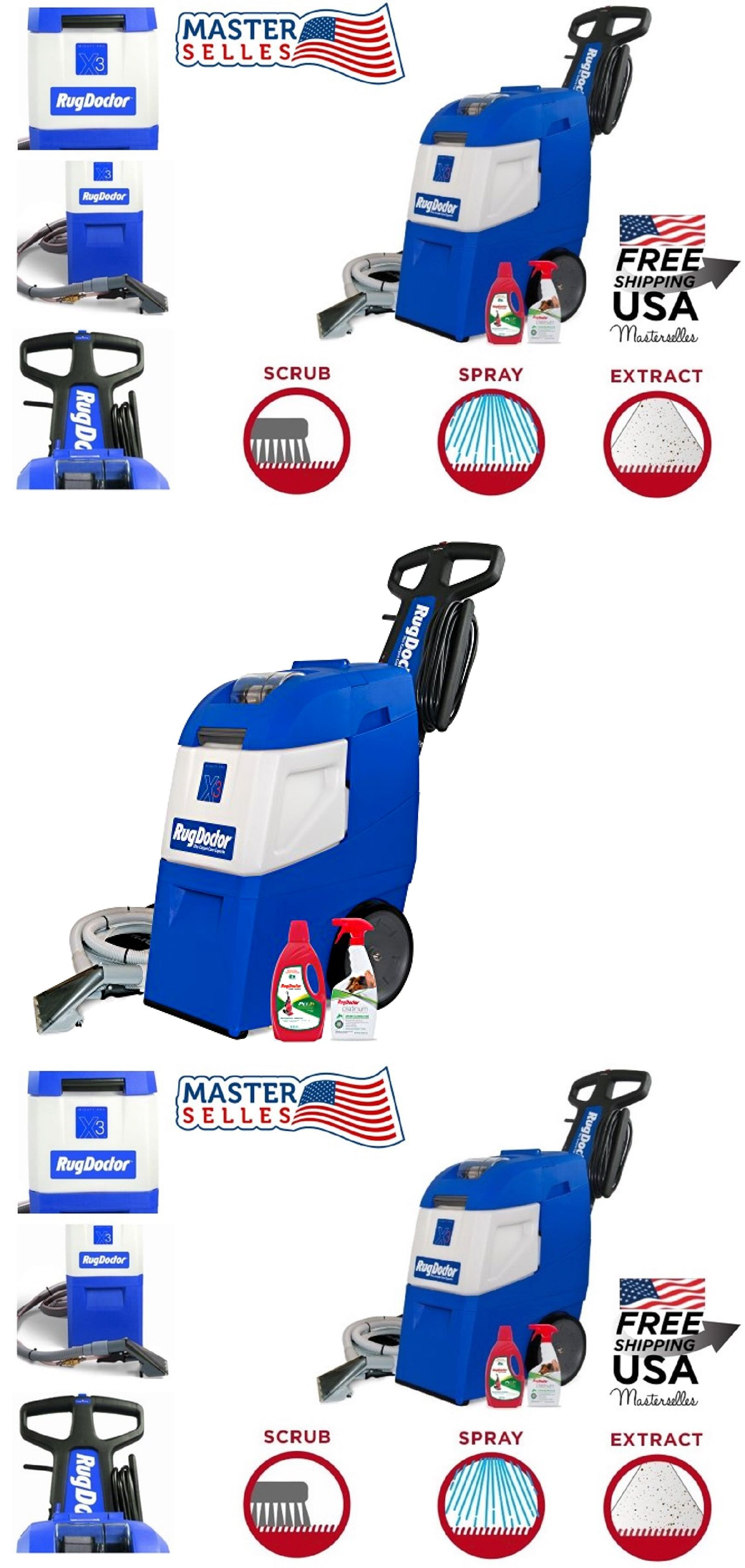 Sandia Spotter 50 1000 Carpet Extractor Auto Detailing Upholstery Carpet Cleaners Floor Machine Professional Carpet Cleaning