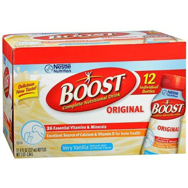 I'm learning all about Boost Original Complete Nutritional Drink 12 Pack at @Influenster!