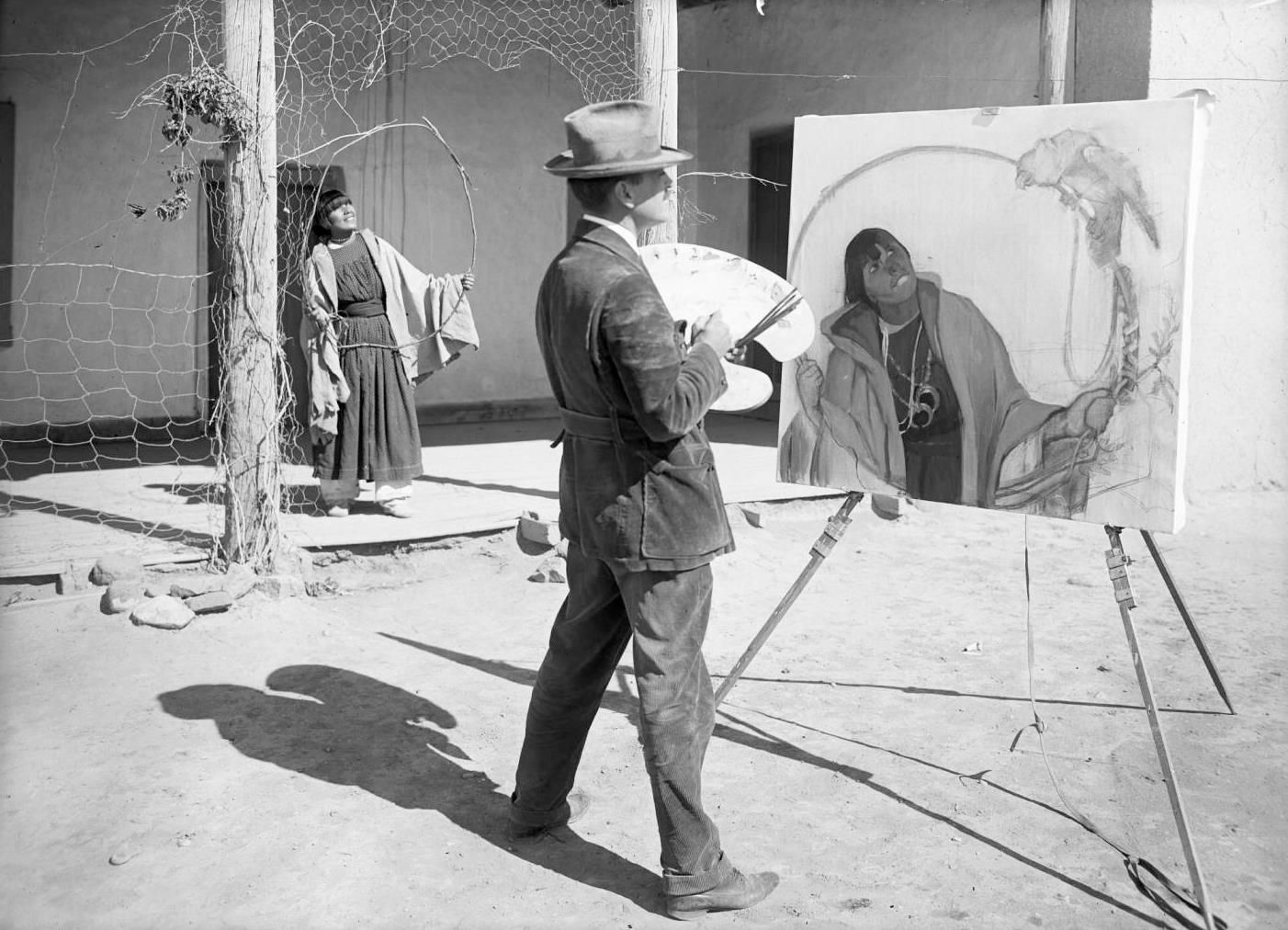 Victor Higgins. Taos Artist Colony. 1900-1910 1 402×1 012 пикс