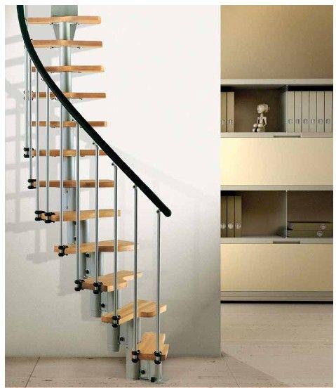 La escalera fokus est dise ada para ser instalada en for Escaleras modernas para espacios pequenos