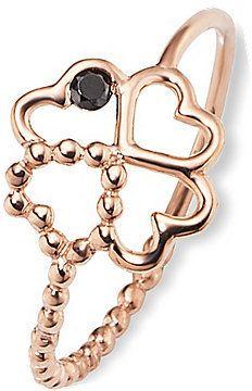 Wiie wäre es mit einem süßen Kleeblatt-Ring als Gechenk für Trauzeugin und Brautjungfern?