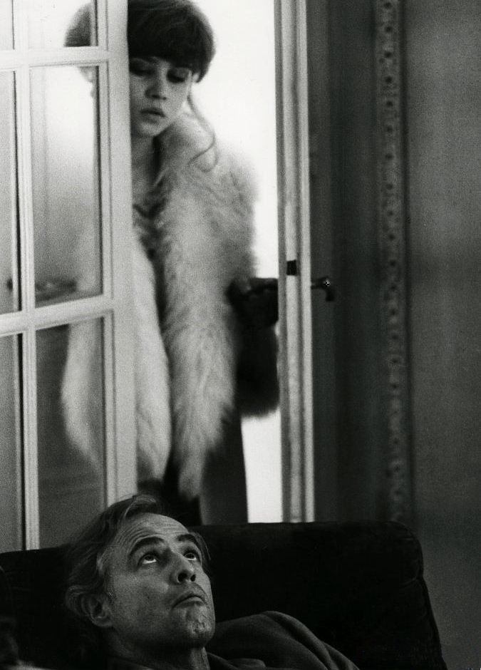 ✖ Marlon Brando and Maria Schneider in Last Tango in Paris, 1972 (dir Bernardo Bertolucci)