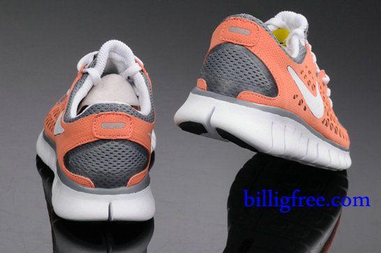 detailed pictures new specials details for Billig Schuhe Damen Nike Free Run + (Farbe:Vamp-grau,orange ...