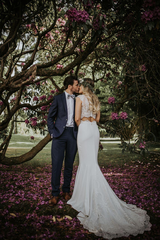 Blush pink boho wedding at larchfield estate n ireland with rime