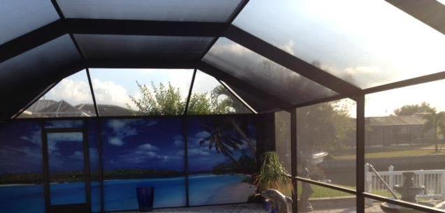 Florida Screen Repair Service Fabri Tech Pool Screen Enclosure Screen Enclosures Florida Pool
