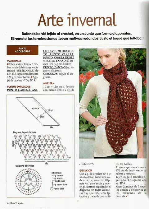 Patrones | Crochet Ideas de inspiración | Pinterest | Patrones y ...